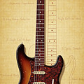 Stratocaster Illustration by WB Johnston
