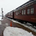Strausburg Railroad by William Rogers