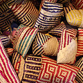 Straw Bags Oaxaca Mexico by John  Mitchell