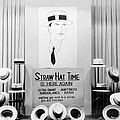 Straw Hat Day Display by Underwood Archives