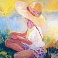 Straw Hat by Maggie Clark