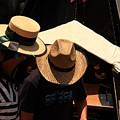 Straw Hats In Venice by Michael Henderson
