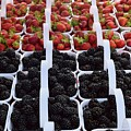 Strawberries And Blackberries by Timothy Smith