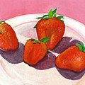 Strawberries And Cream by Helena Tiainen