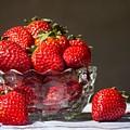 Strawberries In The Sun by Valerie Loop