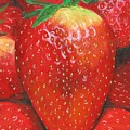 Strawberries by Nancy Nale