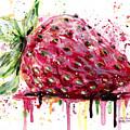 Strawberry 2 by Arleana Holtzmann