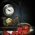 Strawberry Clock by Diana Angstadt