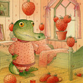 Strawberry Day by Kestutis Kasparavicius