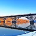 Strawberry Mansion Bridge  by Bill Cannon