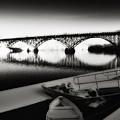 Strawberry Mansion Bridge In Winter by Bill Cannon