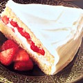 Strawberry Short Cake  by Jacqueline Manos