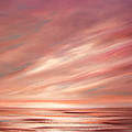 Strawberry Sky Sunset by Gina De Gorna