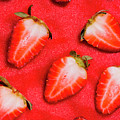 Strawberry Slice Food Still Life by Jorgo Photography - Wall Art Gallery