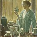 Strawberry Tea Set, 1912 by Childe Hassam