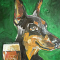 Stray Dog With Ale by Tim Nyberg