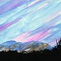 Streaked Sky by R Kyllo