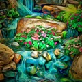 Stream In Ambiance by Catherine Lott