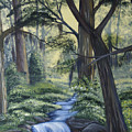 Stream In The Low Country by Judy Moses