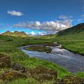 Stream South Iceland by Mike Deutsch