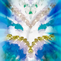 Streams Of Light In Turquoise by Heather Joyce Morrill