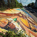 Street Art At Washington D.c. - Cultivating The Rebirth 3 by Riccardo Forte