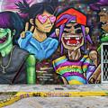 Street Art Graffiti by Mike Burgquist