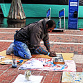 Street Artist, No. 2 by Walter Neal