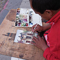 Street Artist In Antigua, Guatemala by Tatiana Travelways