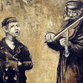 Street Artists After A Photograph Shown On Pbs by Vladimir Kezerashvili