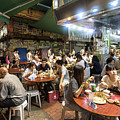 Street Food In Temple Street Night Market In Hong Kong by Didier Marti