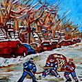 Street Hockey Hotel De Ville by Carole Spandau