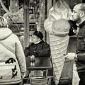 Street Ice Cream by Stewart Marsden