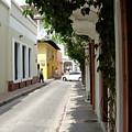 Street In Colombia by Brett Winn