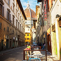 Street In Florence by Anastasy Yarmolovich