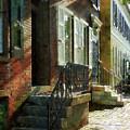 Street In New Castle Delaware by Susan Savad