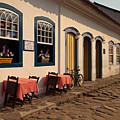 Street In Paraty Old Town by Aivar Mikko