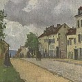 Street In Pontoise Strabe In Pontoise Camille Pissarro by MotionAge Designs