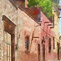 Street In San Miguel De Allende 1 by Rob Huntley
