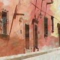 Street In San Miguel De Allende 2 by Rob Huntley