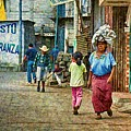 Street In Santiago Atitlan, Guatemala by Tatiana Travelways
