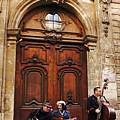 Street Jazz Paris France by Lawrence S Richardson Jr
