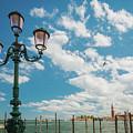 Street Lamp At Venice, Italy by Anastacia Petropavlovskaja
