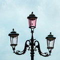 Street Lamp Of Venice by Kay Brewer