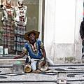 Street Music, Lisboa by Lorraine Devon Wilke