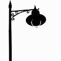 Street Light Silhouette by Martine Murphy