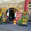Street Market, Prague by Buddy Mays