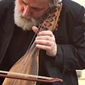 Street Musician In Venice by Michael Henderson