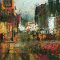 Street Night Light by Yury Malkov