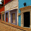 Street Of Color Guanajuato 1 by Mexicolors Art Photography